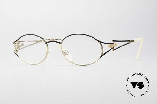 Cazal 285 Oval Round Vintage Glasses Details