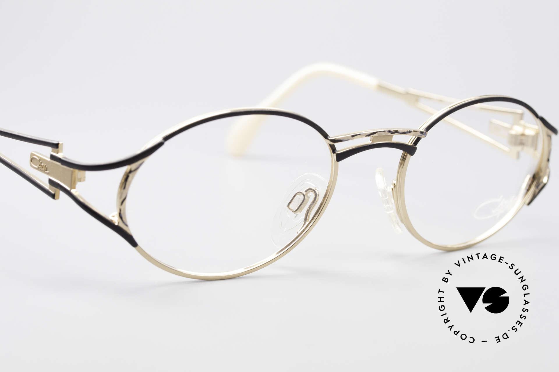 Cazal 285 Oval Round Vintage Glasses, frame is made for optical lenses or sun lenses, Made for Women