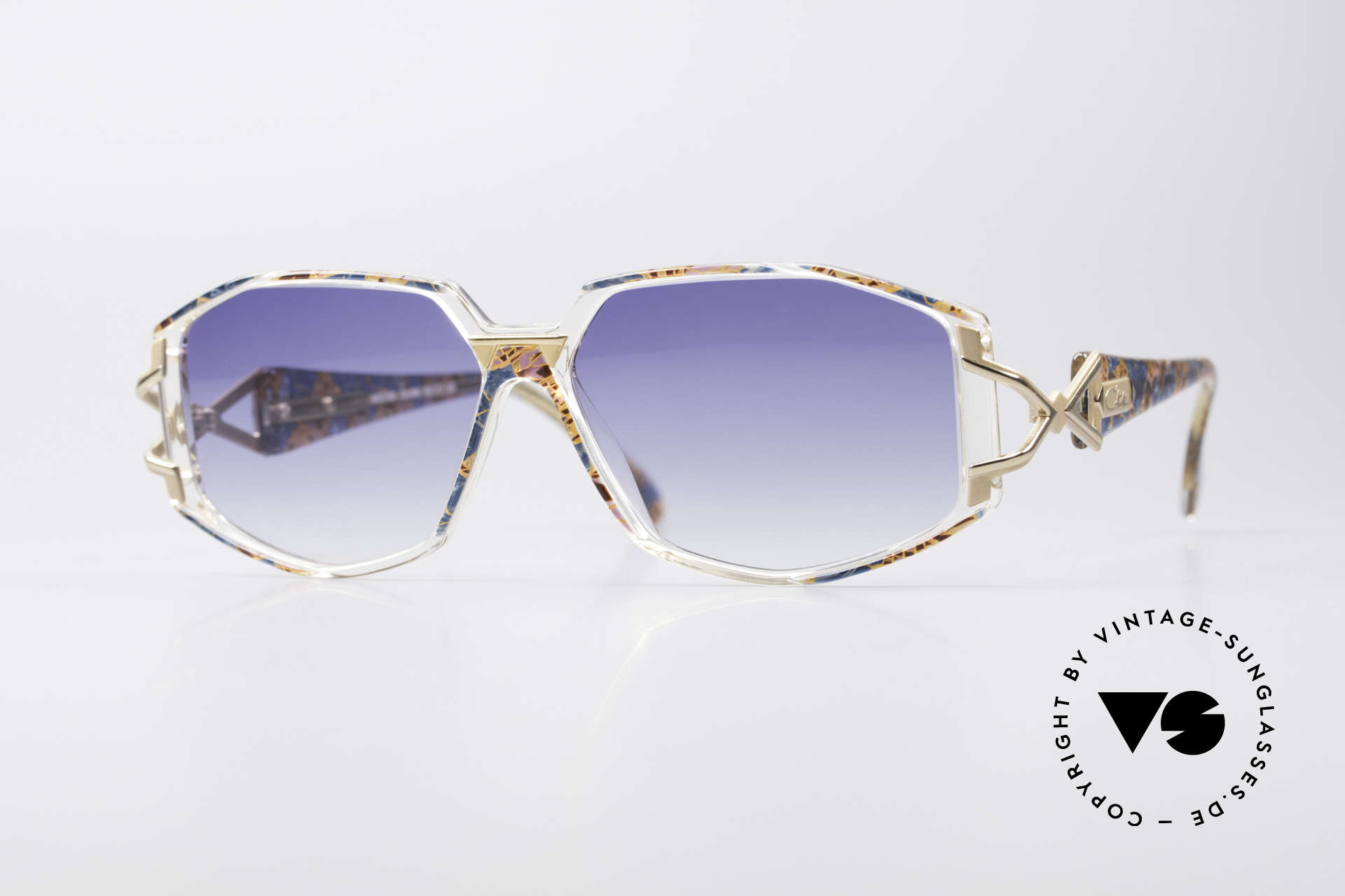Cazal 368 90's Hip Hop Old School Shades, adorned CAZAL sunglasses from 1990's, Hip Hop Style, Made for Women