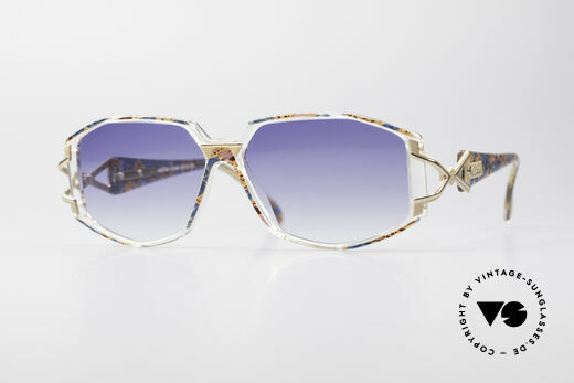 Cazal 368 90's Hip Hop Old School Shades Details