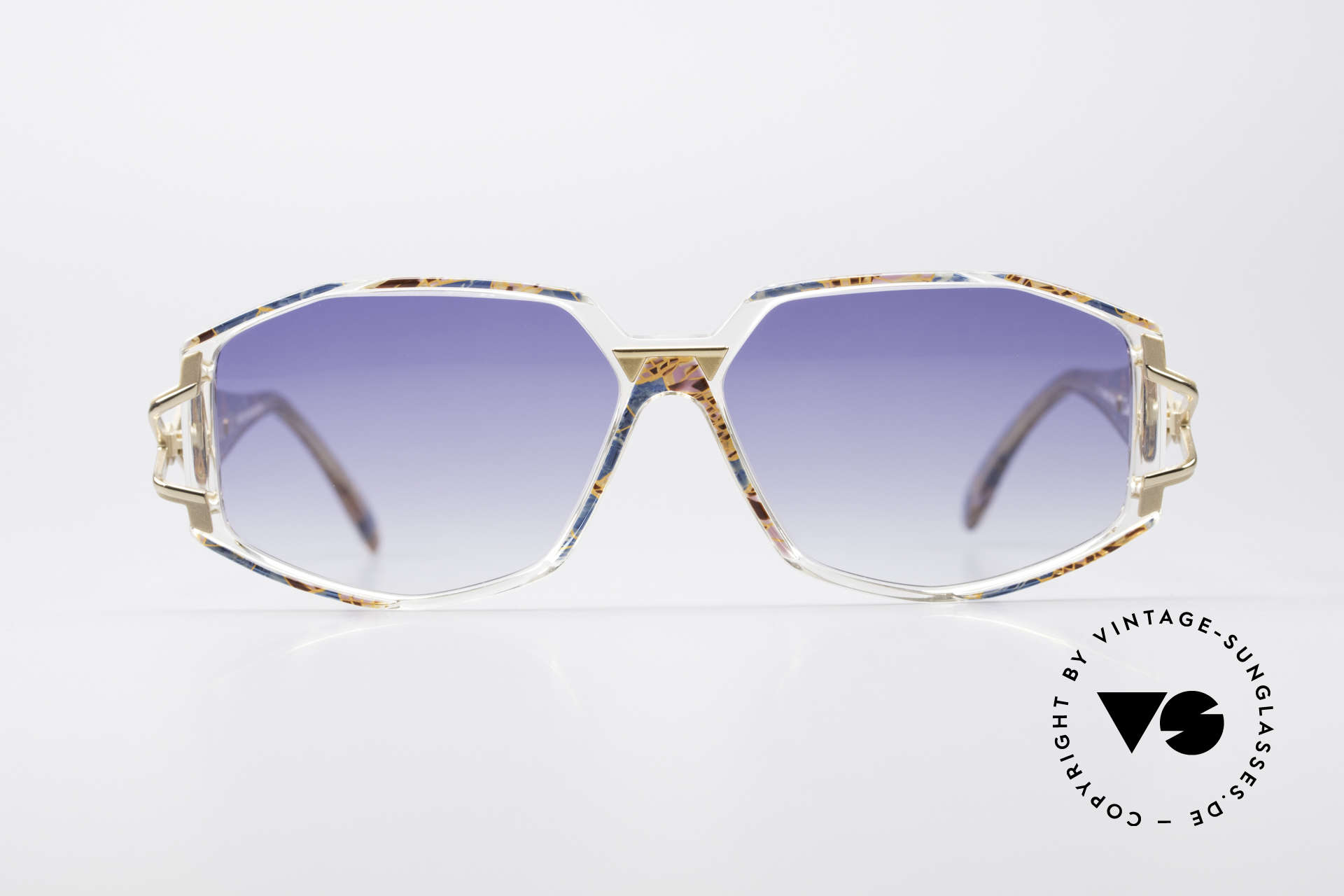 Cazal 368 90's Hip Hop Old School Shades, exciting design on the hinges of the arms; just unique, Made for Women