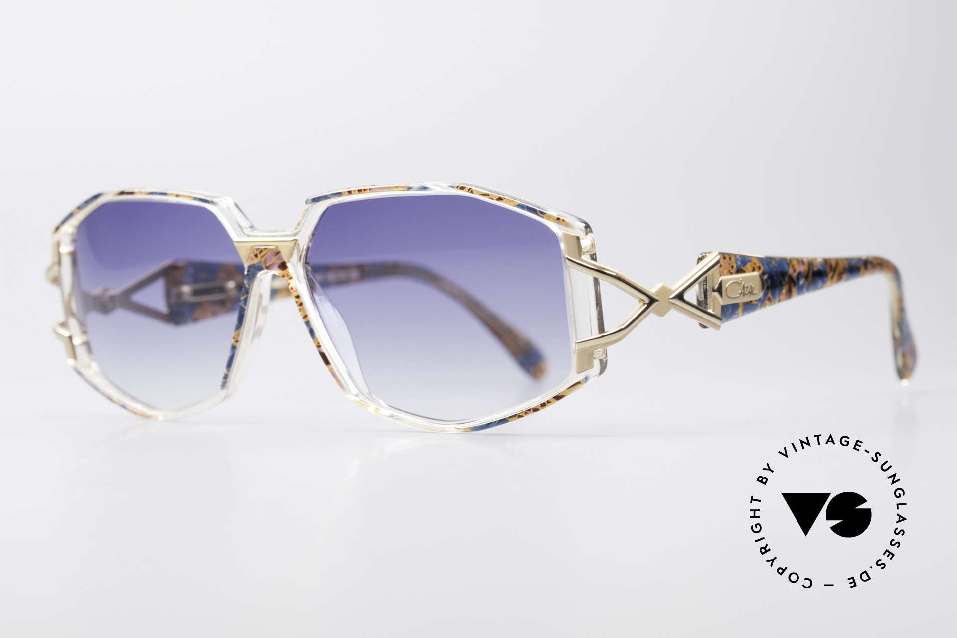 Cazal 368 90's Hip Hop Old School Shades, top-notch crafting & great durability, made in Germany, Made for Women