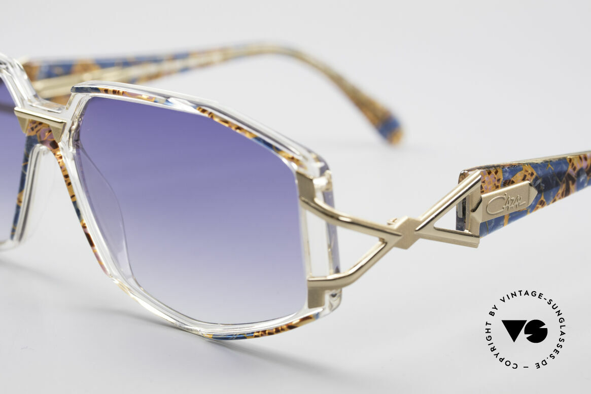 Cazal 368 90's Hip Hop Old School Shades, costly and fancy frame paintwork = distinctive CAZAL, Made for Women