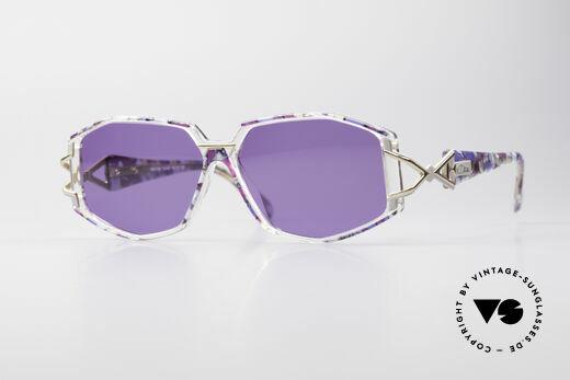 Cazal 368 90's Sunglasses Hip Hop Style Details