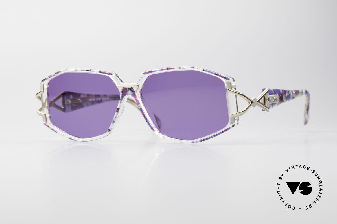 Cazal 368 90's Sunglasses Hip Hop Style, adorned Cazal sunglasses from the 90's, Hip Hop Style, Made for Women