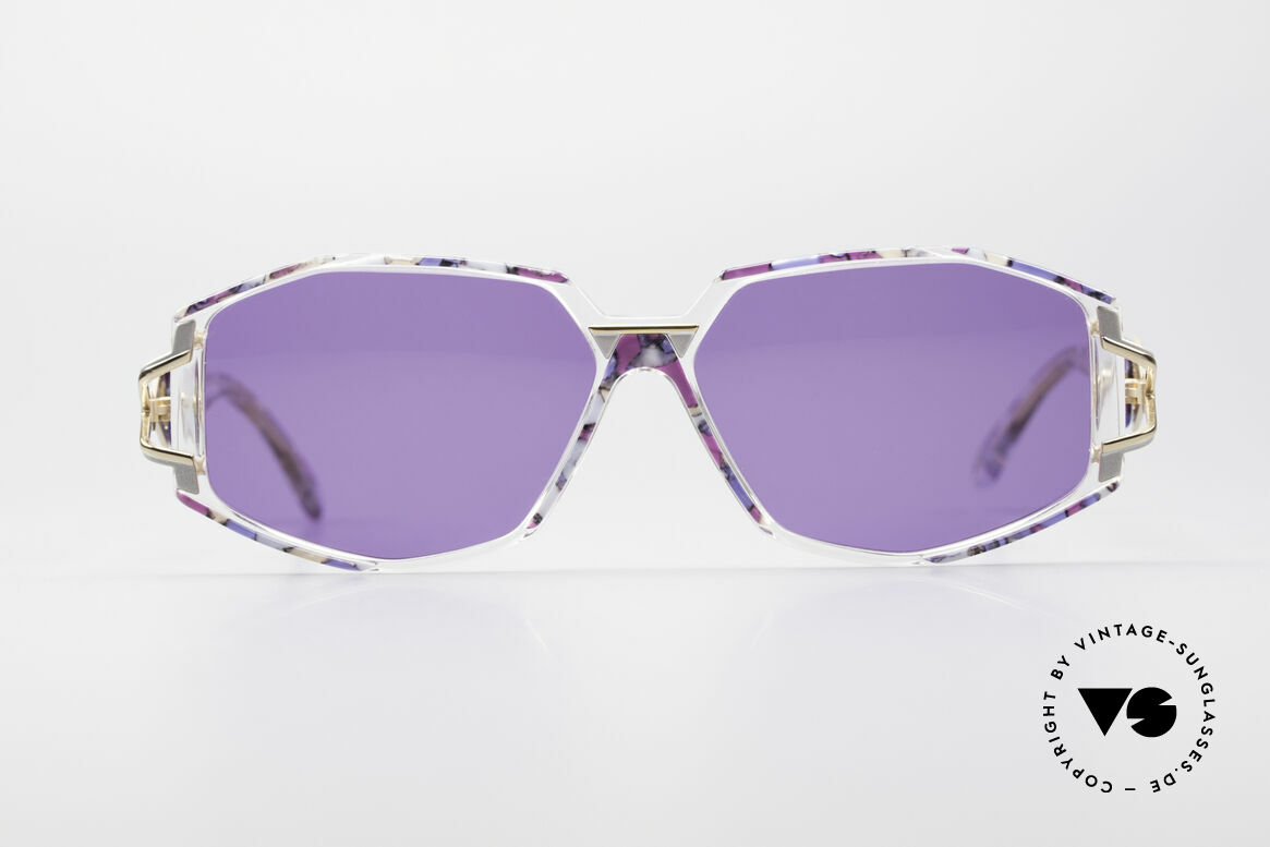 Cazal 368 90's Sunglasses Hip Hop Style, exciting design on the hinges of the arms; just unique, Made for Women