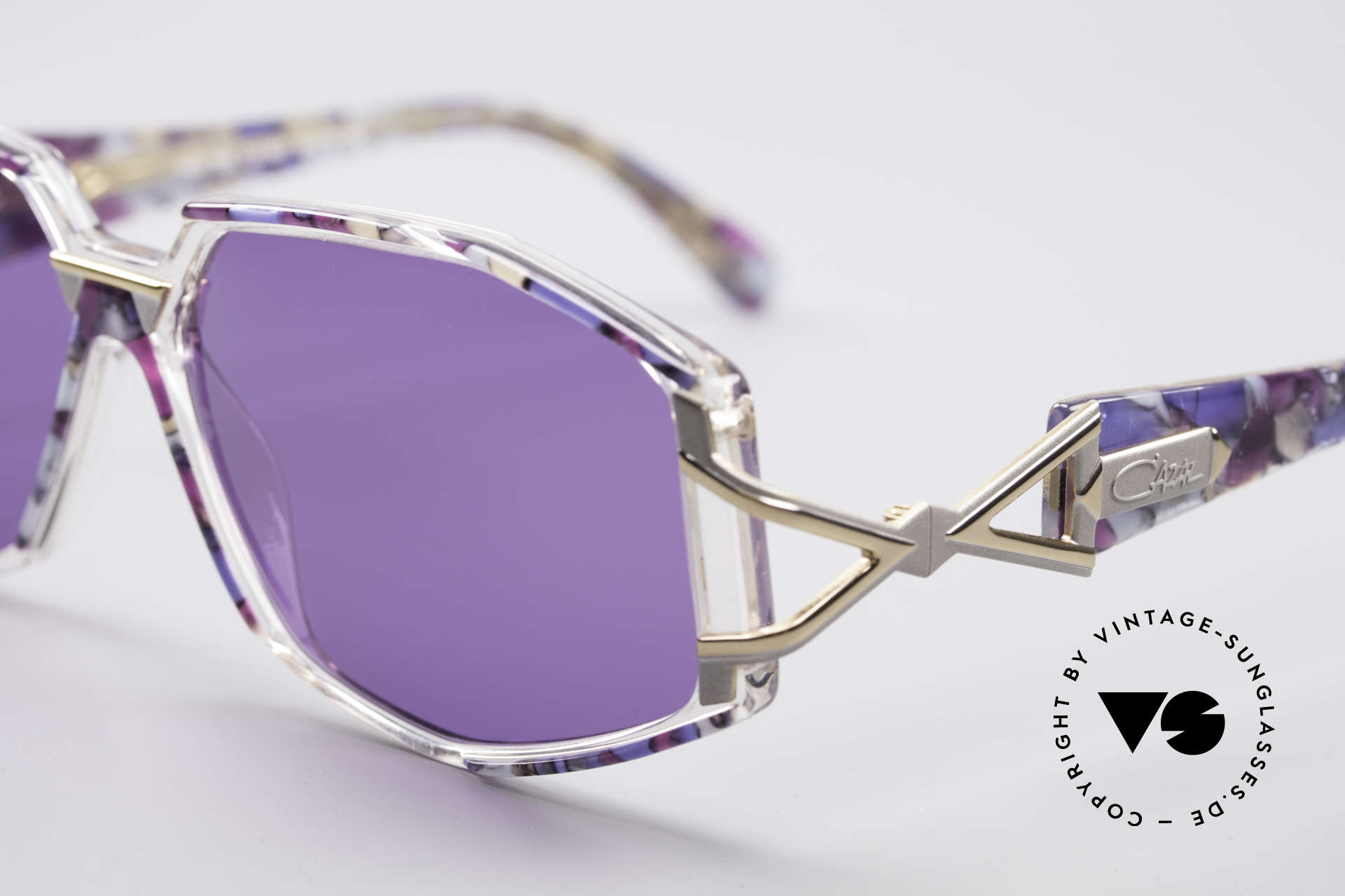 Cazal 368 90's Sunglasses Hip Hop Style, costly and fancy frame paintwork = distinctive CAZAL, Made for Women
