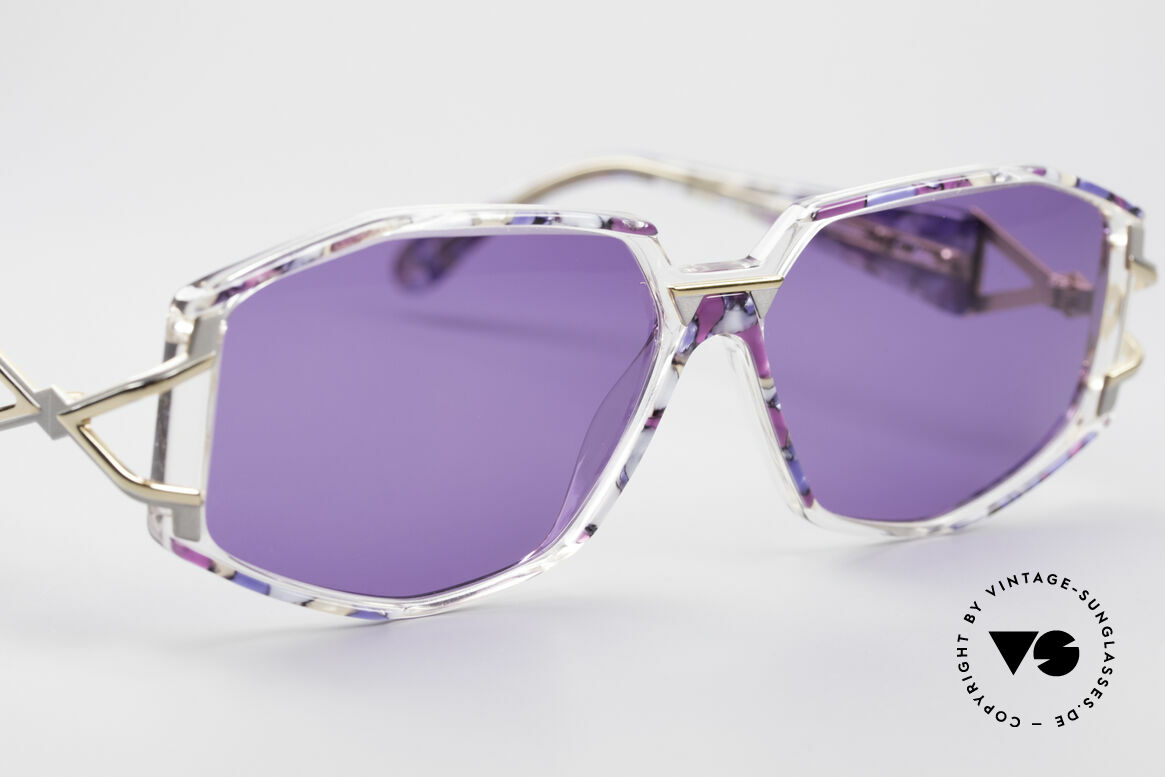 Cazal 368 90's Sunglasses Hip Hop Style, unworn (like all our rare VINTAGE designer sunglasses), Made for Women