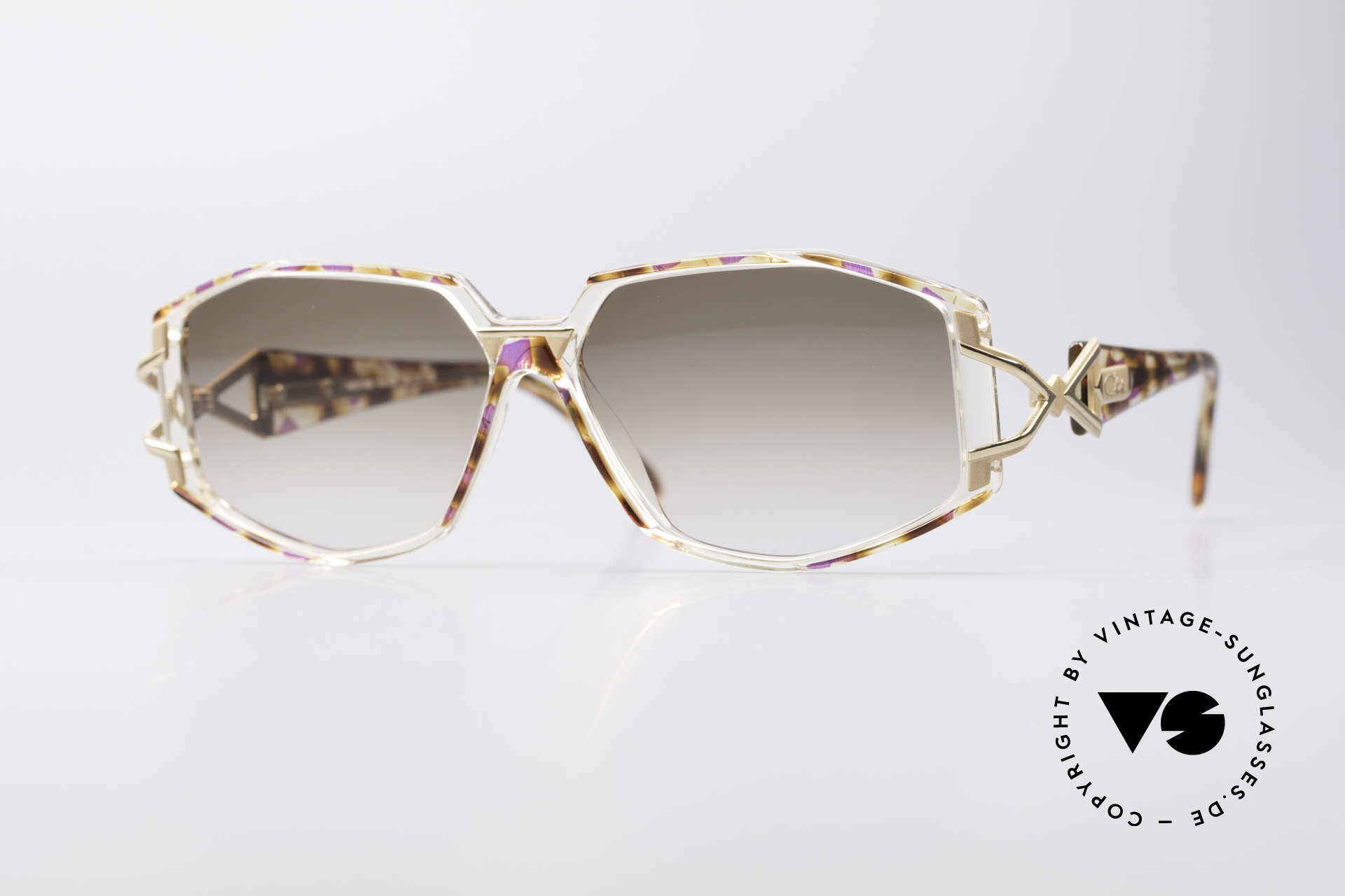 Cazal 368 Designer Shades Hip Hop Style, adorned Cazal sunglasses from the 90's, Hip Hop Style, Made for Women
