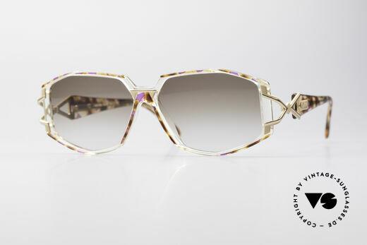 Cazal 368 Designer Shades Hip Hop Style Details