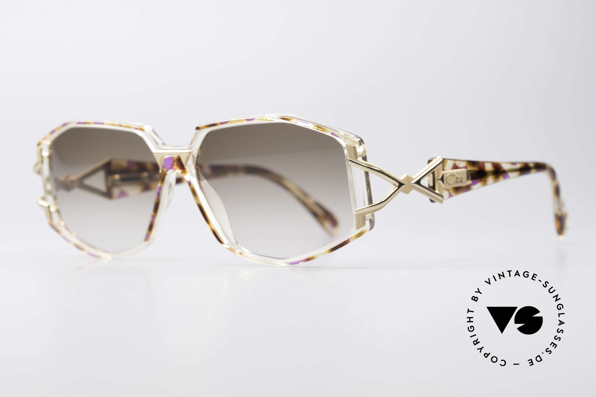Cazal 368 Designer Shades Hip Hop Style, top-notch crafting & great durability; made in Germany, Made for Women