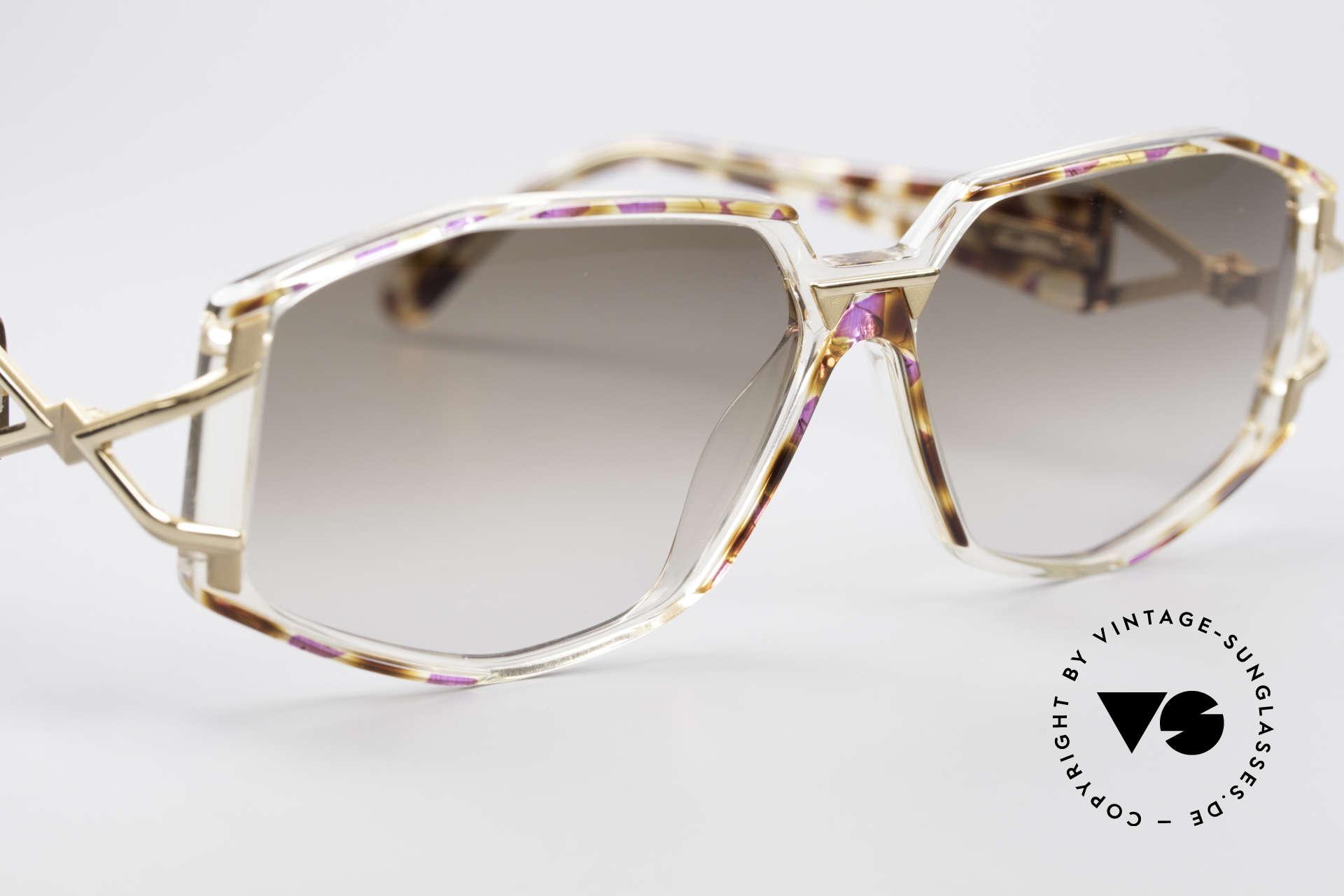 Cazal 368 Designer Shades Hip Hop Style, unworn (like all our rare VINTAGE designer sunglasses), Made for Women