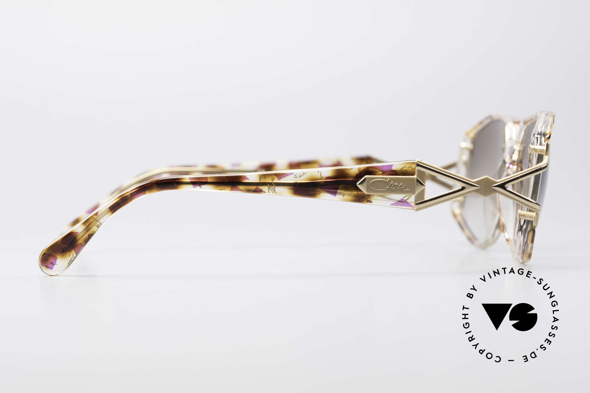 Cazal 368 Designer Shades Hip Hop Style, NO RETRO specs, but a 25 years old original by CAZAL!, Made for Women