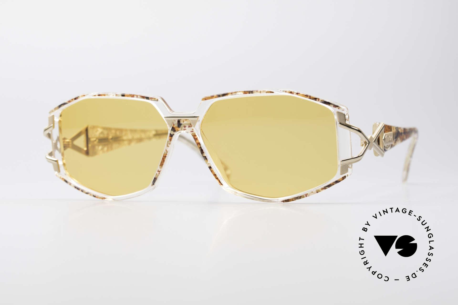 Cazal 368 90's Hip Hop Designer Frame, adorned Cazal sunglasses from the 90's, Hip Hop Style, Made for Women