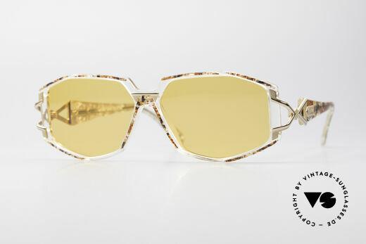 Cazal 368 90's Hip Hop Designer Frame Details