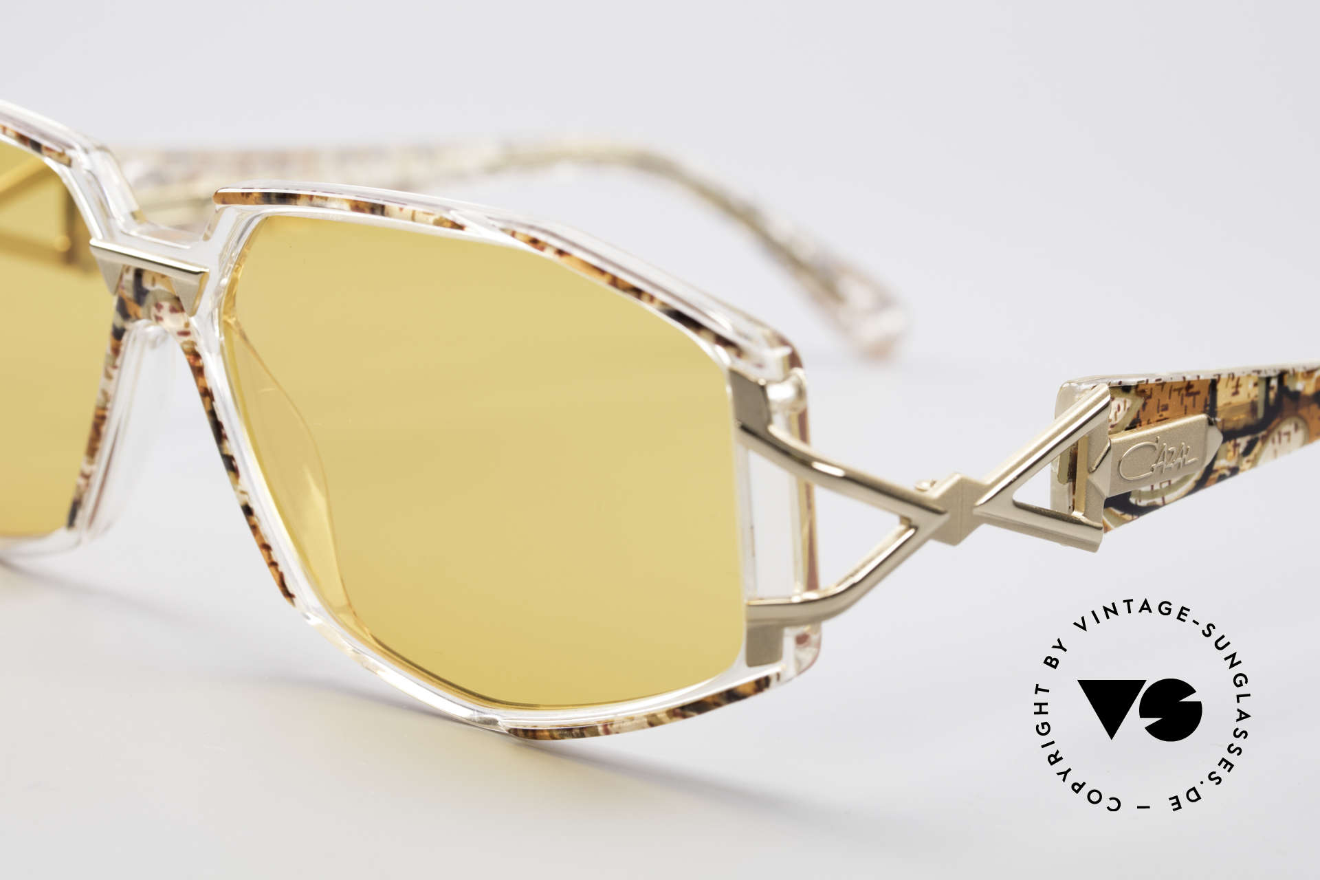 Cazal 368 90's Hip Hop Designer Frame, costly and fancy frame paintwork = distinctive CAZAL, Made for Women