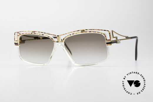 Cazal 365 Old School No Retro Sunglasses Details