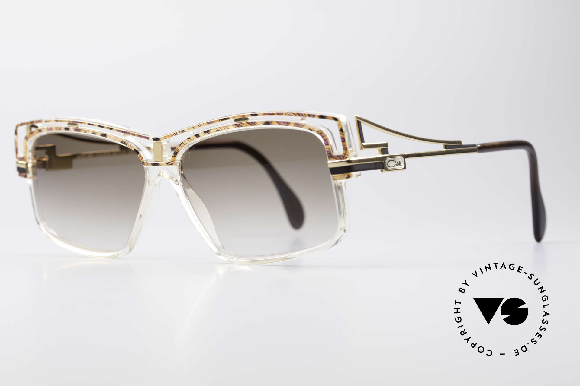 Cazal 365 Old School No Retro Sunglasses, distinctive CAZAL; true vintage 90's HIP HOP frame, Made for Men and Women