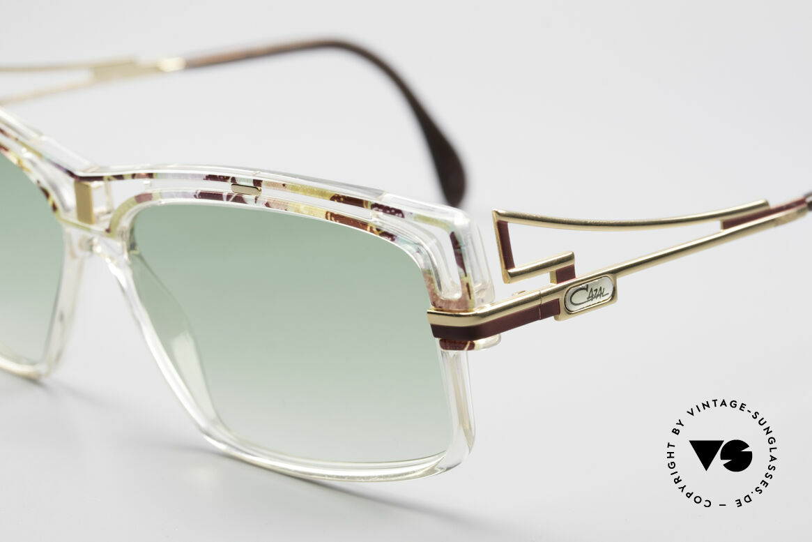 Cazal 365 90's Old School Hip Hop Shades, crafting & durability on top-level; made in Germany, Made for Men and Women