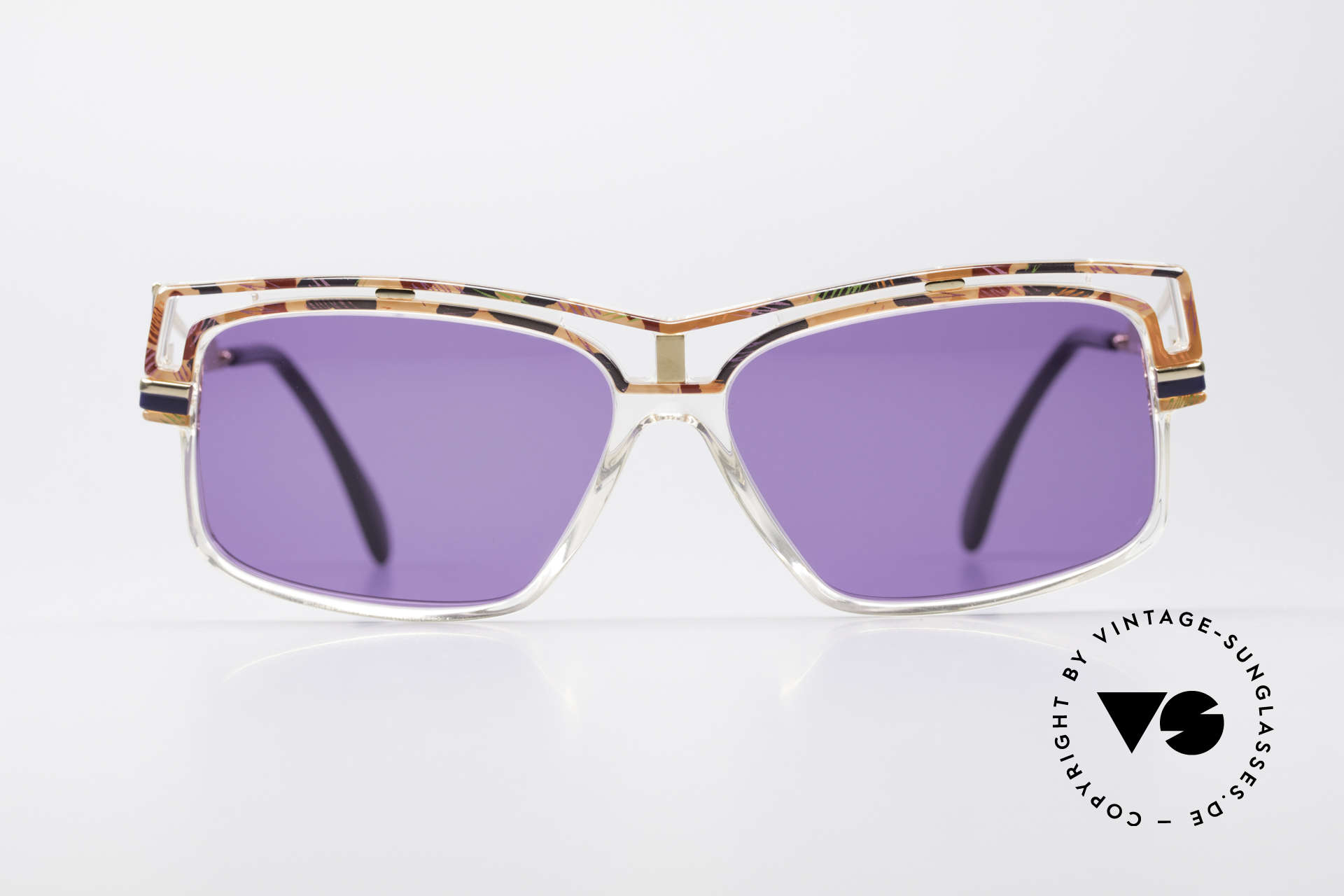 Cazal 365 Old School Hip Hop Cazal 90's, interesting combination of colors, form & materials, Made for Men and Women