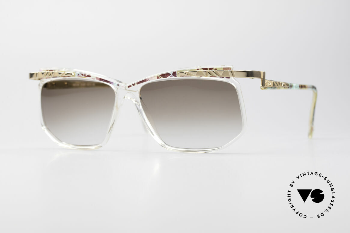 Cazal 366 Crystal Vintage 90's Frame, VINTAGE DESIGNER sunglasses by CAZAL from 1996, Made for Men and Women
