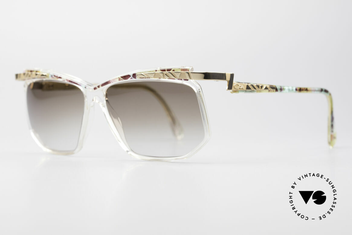 Cazal 366 Crystal Vintage 90's Frame, CAZAL = part of the US hip-hop-scene in the 80s/90s, Made for Men and Women