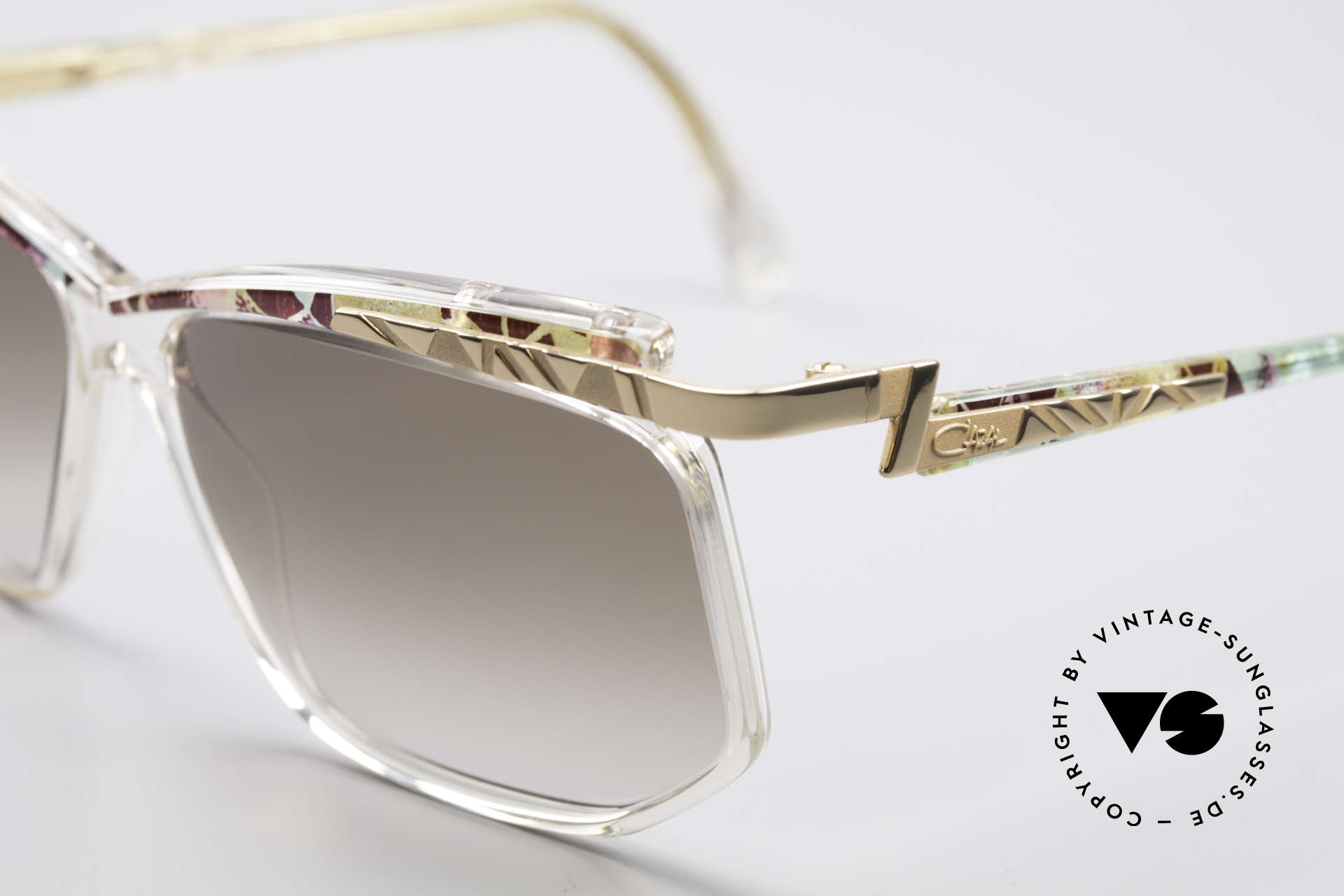 Cazal 366 Crystal Vintage 90's Frame, really and truly: old school frame 'made in Germany', Made for Men and Women