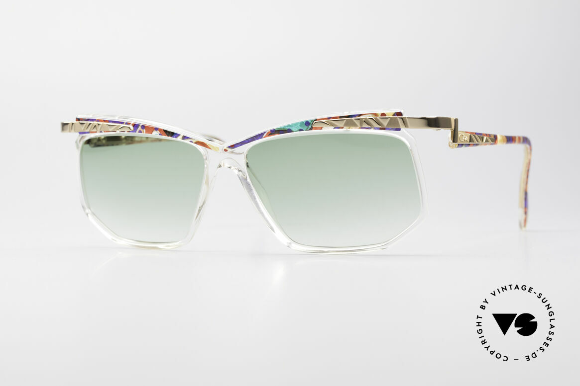 Cazal 366 Crystal Vintage 90's Shades, VINTAGE DESIGNER sunglasses by CAZAL from 1996, Made for Men and Women