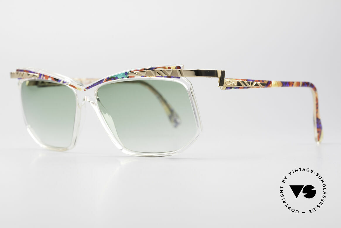 Cazal 366 Crystal Vintage 90's Shades, CAZAL = part of the US hip-hop-scene in the 80s/90s, Made for Men and Women