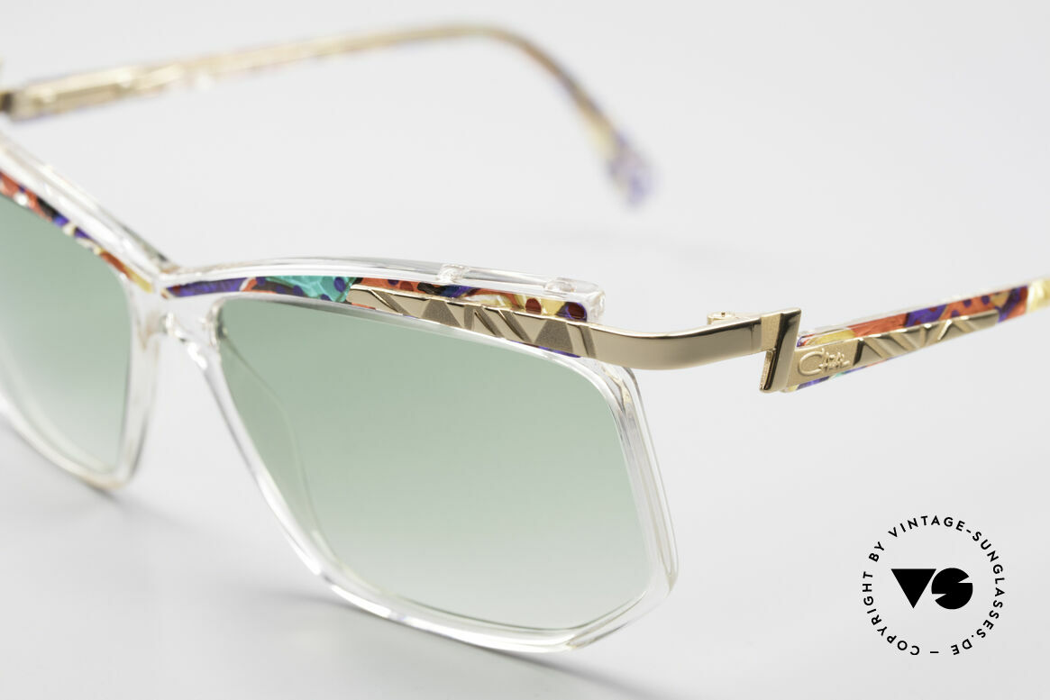 Cazal 366 Crystal Vintage 90's Shades, really and truly: old school frame 'made in Germany', Made for Men and Women