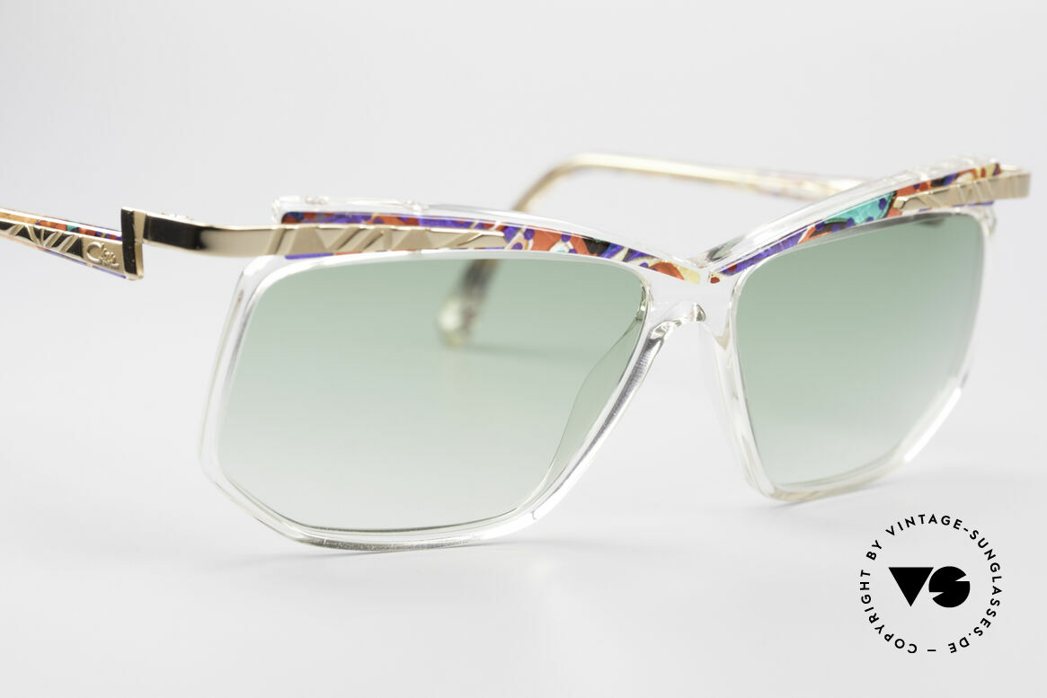 Cazal 366 Crystal Vintage 90's Shades, never worn, NOS (like all our Cazal Hip-Hop shades), Made for Men and Women