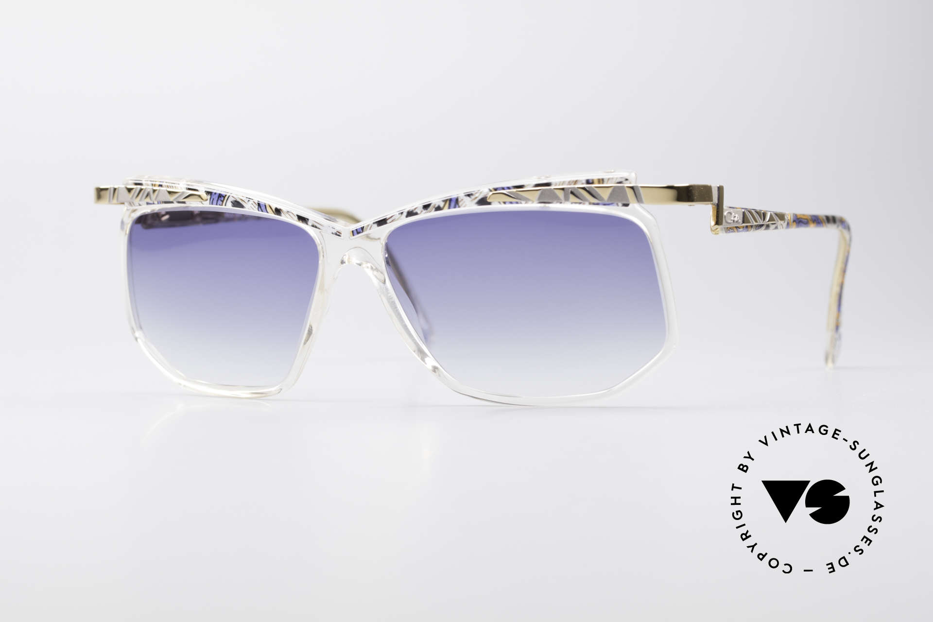 Cazal 366 Crystal Vintage 90's Hip Hop, VINTAGE DESIGNER sunglasses by CAZAL from 1996, Made for Men and Women