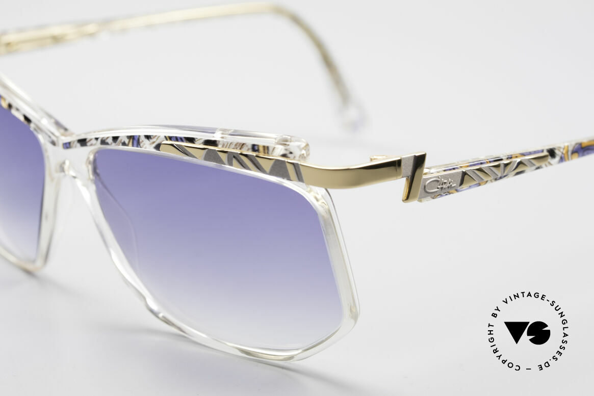 Cazal 366 Crystal Vintage 90's Hip Hop, really and truly: old school frame 'made in Germany', Made for Men and Women