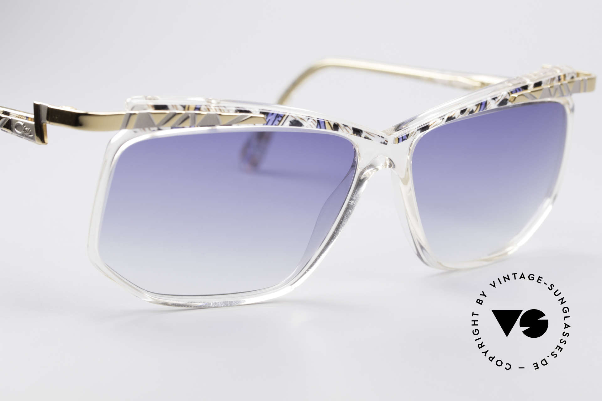 Cazal 366 Crystal Vintage 90's Hip Hop, never worn, NOS (like all our CAZAL HipHop shades), Made for Men and Women