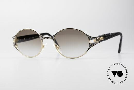 Cazal 281 Oval 90's Designer Sunglasses Details
