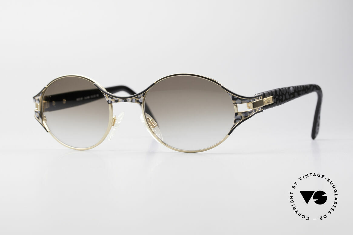 Cazal 281 Oval 90's Designer Sunglasses, original CAZAL vintage sunglasses of the late 90's, Made for Women