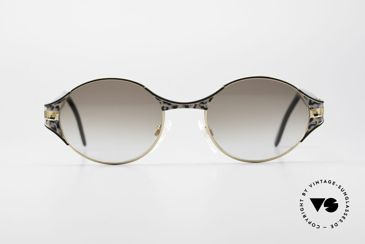 Cazal 281 Oval 90's Designer Sunglasses, excellent combination of various design elements, Made for Women