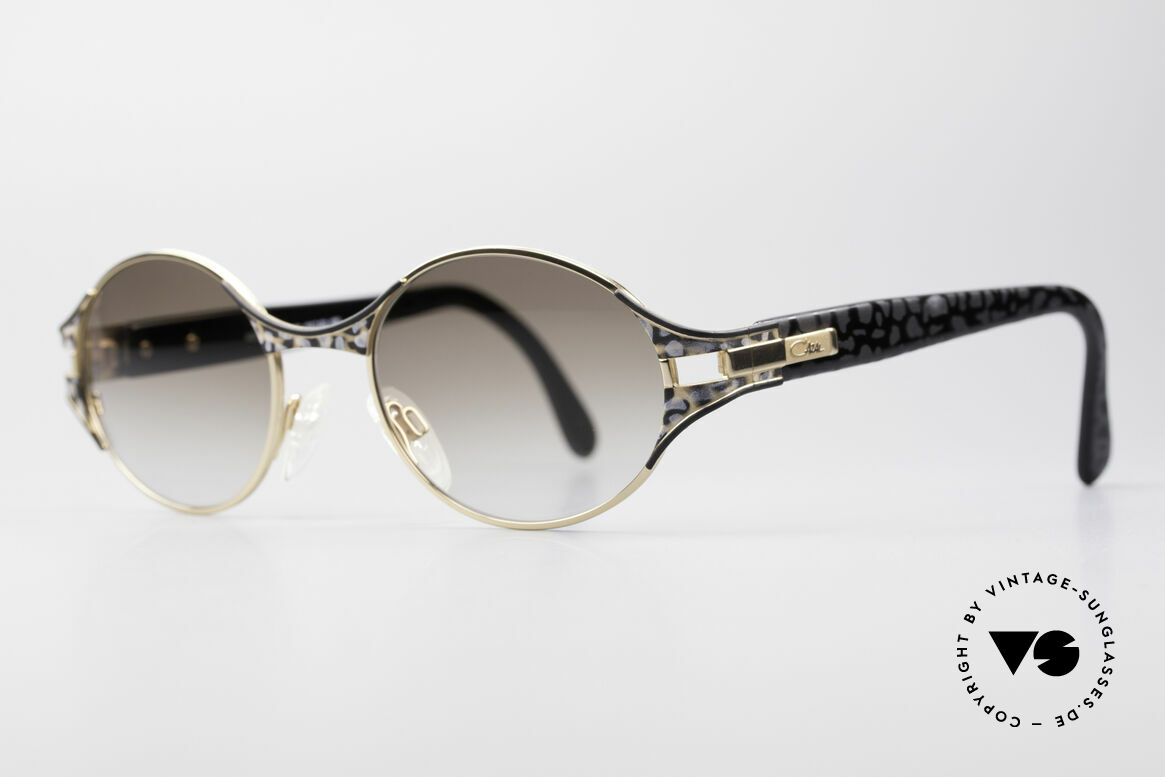 Cazal 281 Oval 90's Designer Sunglasses, coloration, materials & craftsmanship on top-level, Made for Women