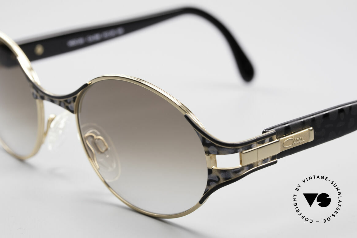 Cazal 281 Oval 90's Designer Sunglasses, unworn condition; like all our vintage Cazal shades, Made for Women