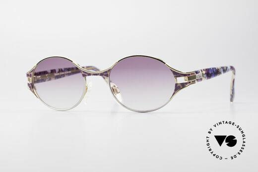 Cazal 281 Oval 90's Vintage Sunglasses Details