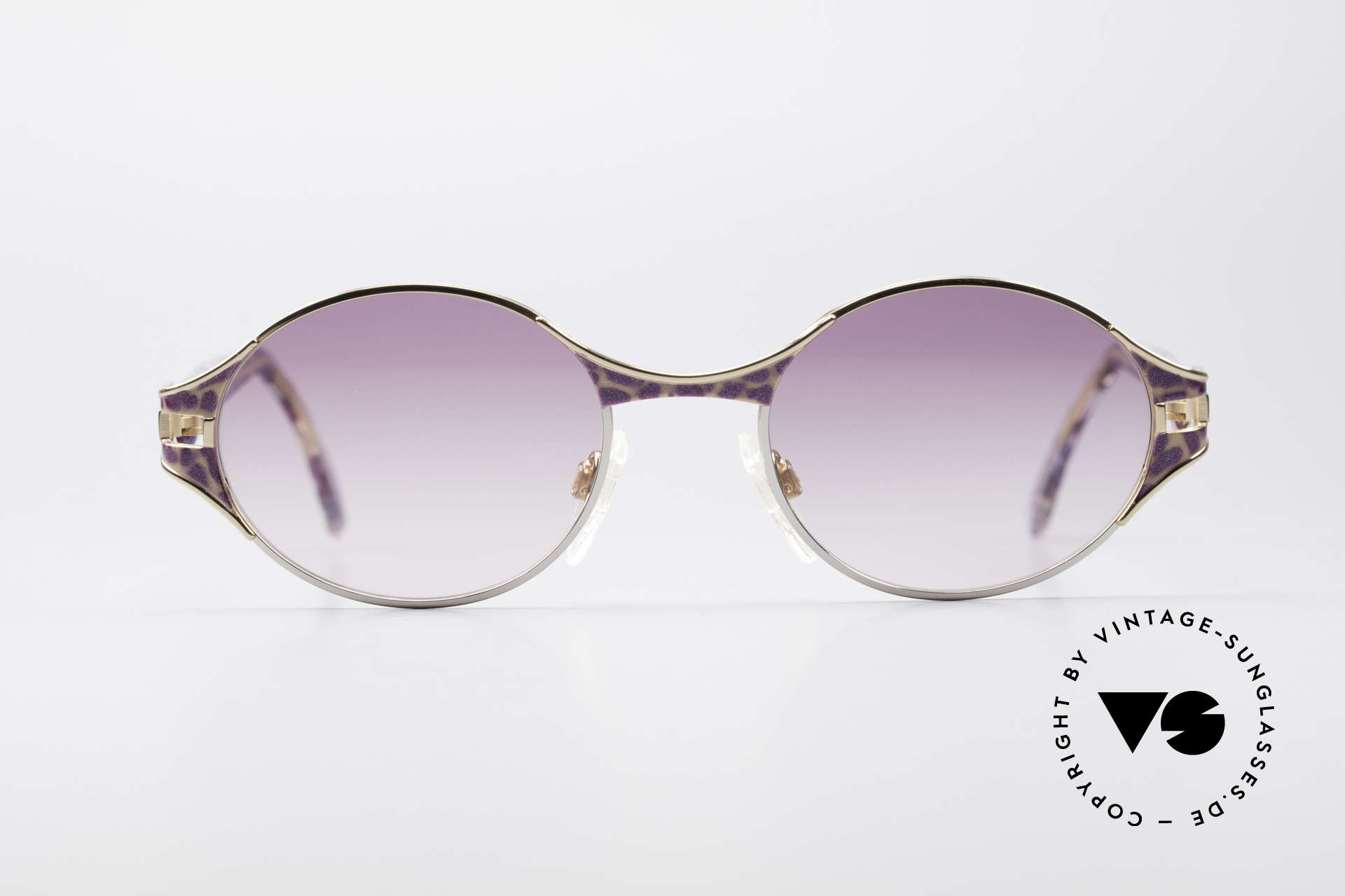 Cazal 281 Oval 90's Vintage Sunglasses, excellent combination of various design elements, Made for Women