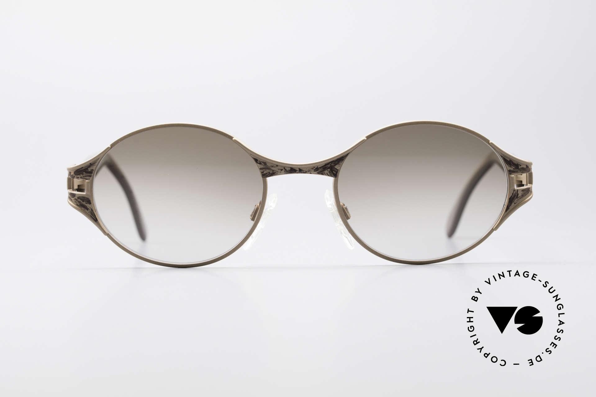 Cazal 281 90's Sunglasses Oval Round, excellent combination of various design elements, Made for Women