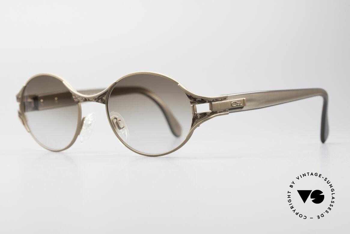 Cazal 281 90's Sunglasses Oval Round