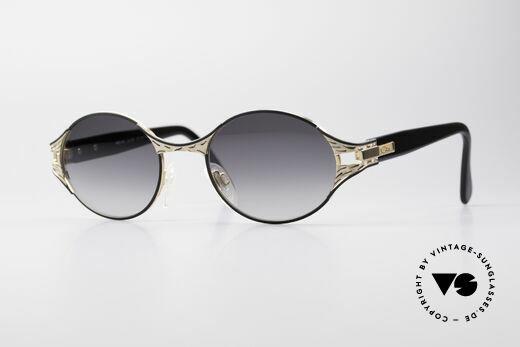 Cazal 281 Oval Vintage Designer Shades Details