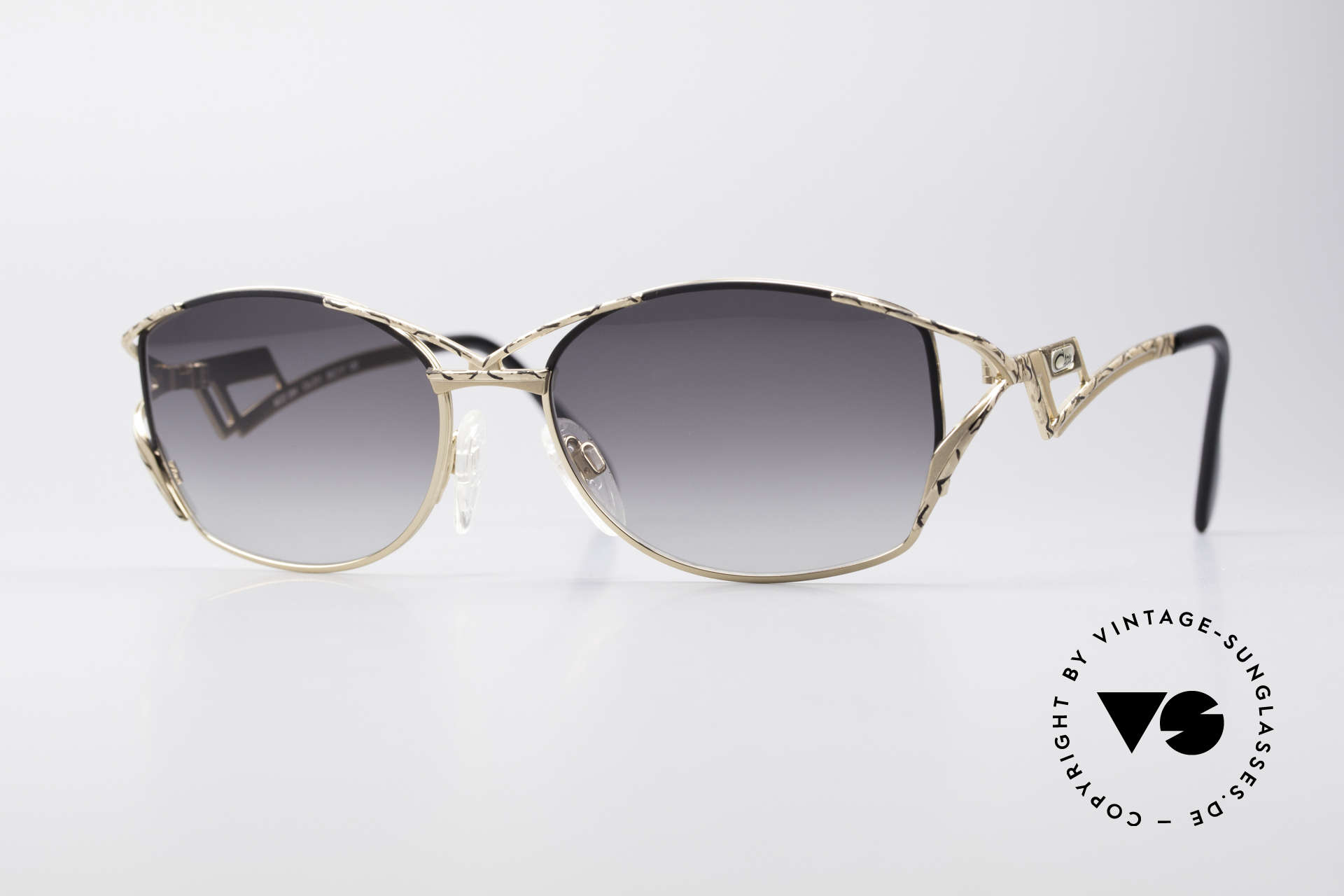 Cazal 284 Luxury Vintage Sunglasses 90's, extraordinary Cazal shades from the late 1990's, Made for Women