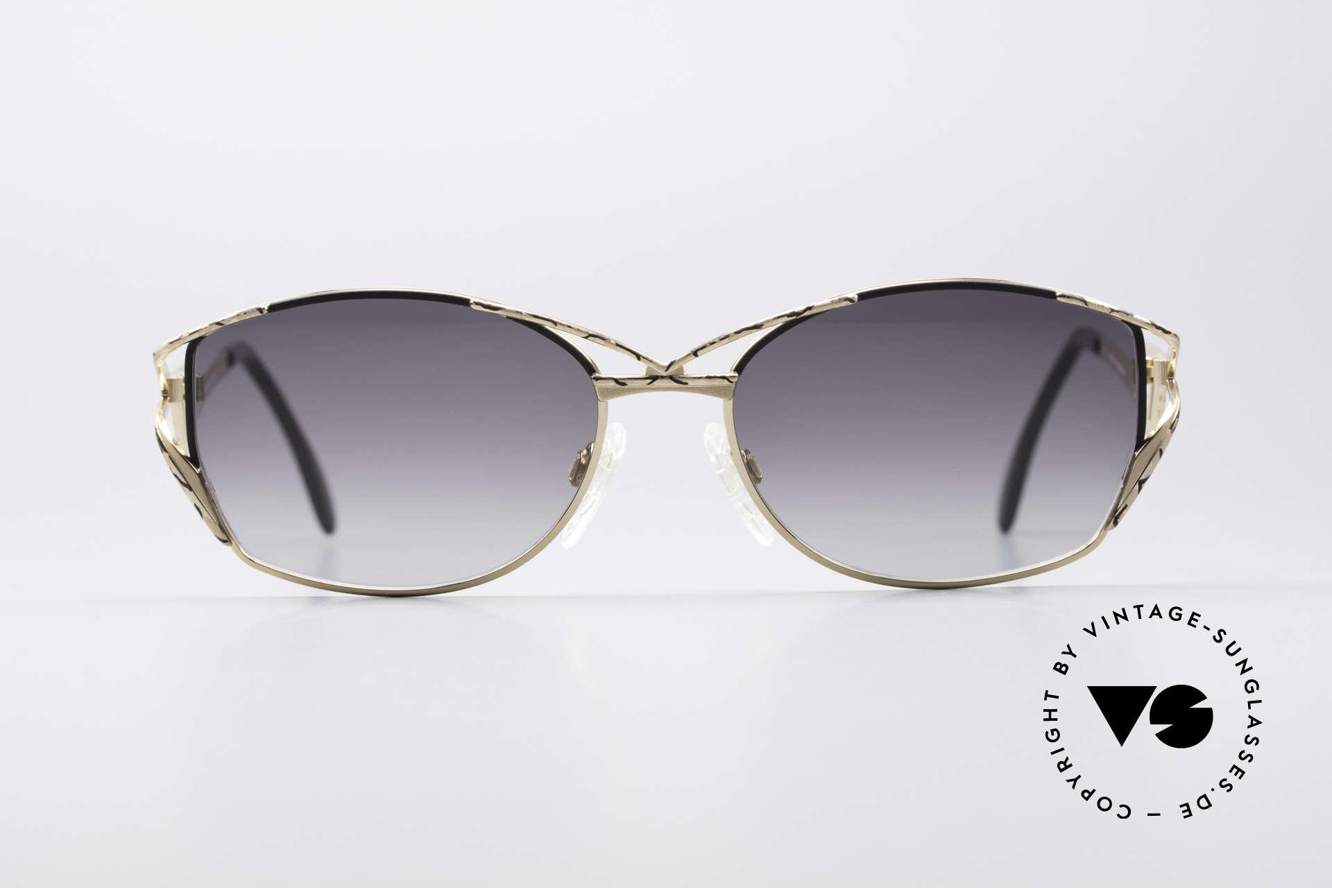 Cazal 284 Luxury Vintage Sunglasses 90's, designer sunglasses by CAri ZALloni (Mr. CAZAL), Made for Women