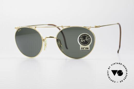 Ray Ban Deco Metals Round B&L USA Round Sunglasses Details