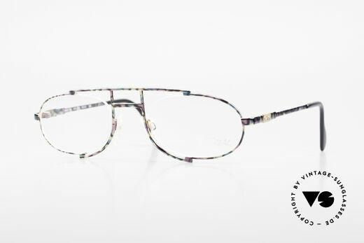 Cazal 753 Rare 90's Designer Eyeglasses Details