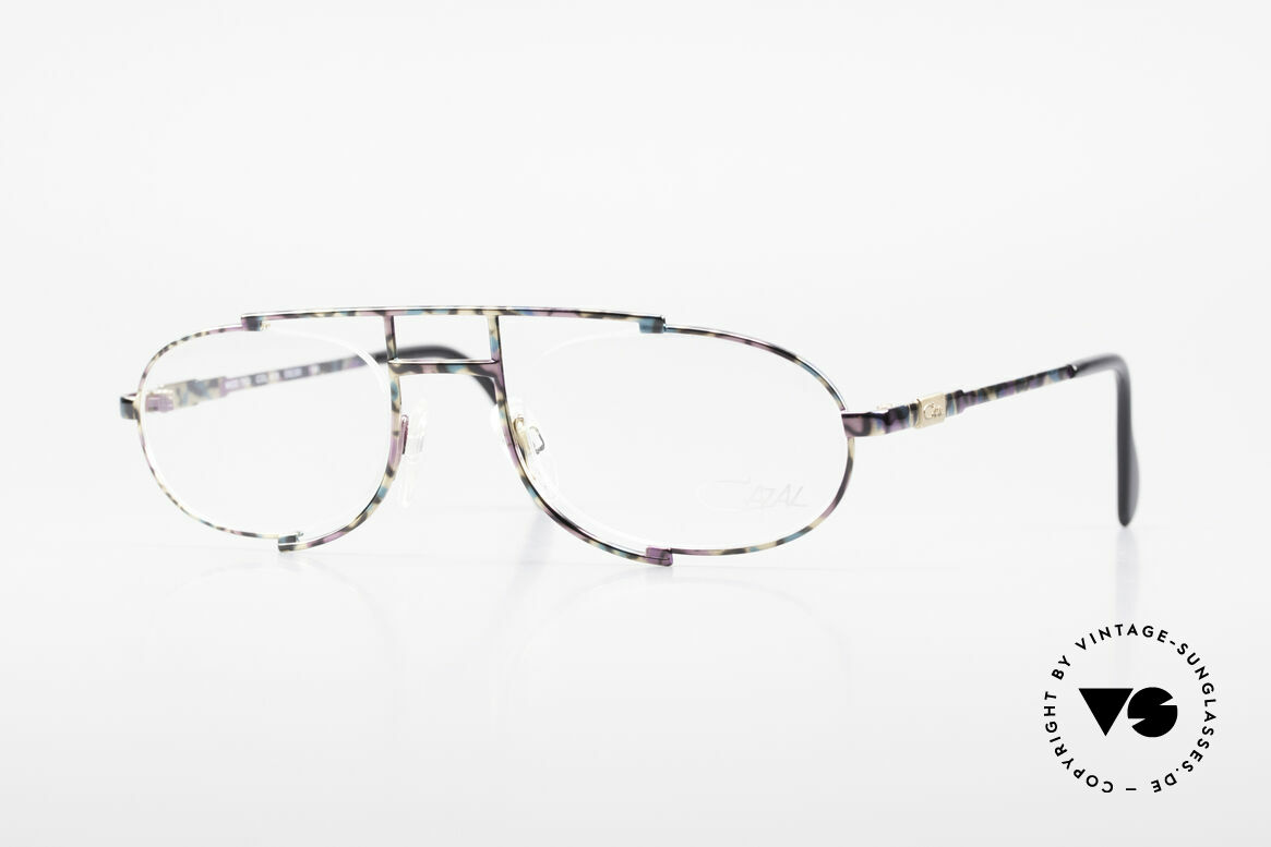 Cazal 753 Rare 90's Designer Eyeglasses, oval vintage eyeglass-frame by CAZAL from 1992, Made for Men