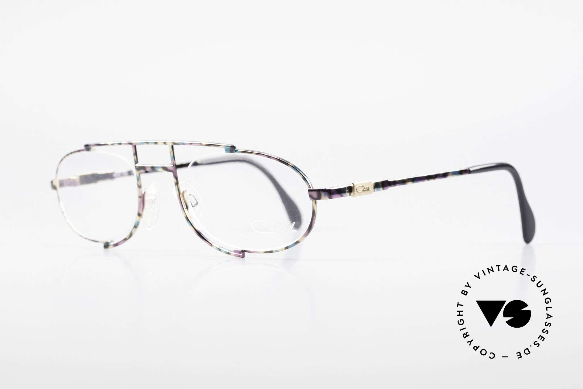 Cazal 753 Rare 90's Designer Eyeglasses, a true eye-catcher designed by Mr. CAri ZALloni, Made for Men